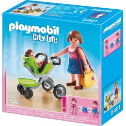 Playmobil Klocki City Life 5491 Mama z Wózkiem