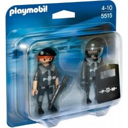 Playmobil 5515 Klocki City Action Drużyna Jednostki Specjalnej