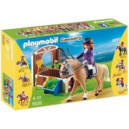 Playmobil Klocki Country 5520 Koń Wielkopolski z Boksem