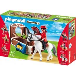 Playmobil Klocki Country 5521 Andaluzyjski Koń z Boksem