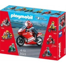 Playmobil Klocki Sports & Action 5522 Motor Superbike