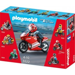 Playmobil Klocki Sports & Action 5522 Motor Superbike