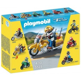 Playmobil Klocki Sports & Action 5523 Motor Street Tourer