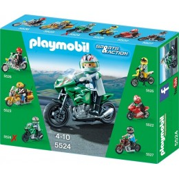 Playmobil Klocki Sports & Action 5524 Motor Sports Bike