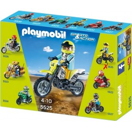 Playmobil Klocki Sports & Action 5525 Motor Cross Bike
