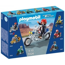 Playmobil Klocki Sports & Action 5526 Motor Eagle Cruiser