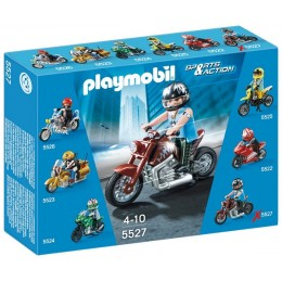 Playmobil Klocki Sports & Action 5527 Motor Muscle Bike
