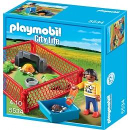 Playmobil Klocki City Life 5534 Wybieg dla Żółwi