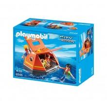Playmobil City Action 5545 Tratwa ratunkowa