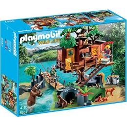 Playmobil Wild Life 5557 Przygoda z Domkiem na Drzewie