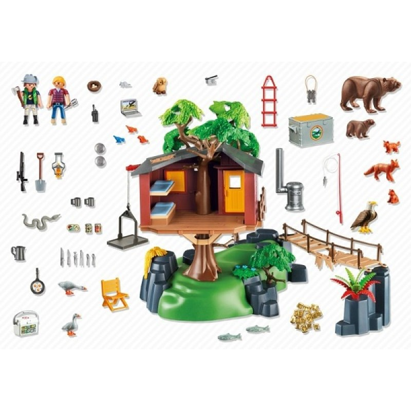 playmobil wild life 5557 przygoda z domkiem na drzewie sklep zabawkowy. Black Bedroom Furniture Sets. Home Design Ideas