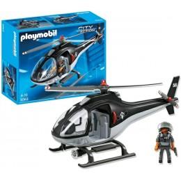 Playmobil 5563 Klocki City Action Helikopter Jednostki Specjalnej