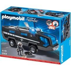 Playmobil 5564 Klocki City Action Pojazd Jednostki Specjalnej