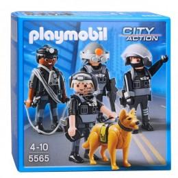 Playmobil 5565 Klocki City Action Grupa Oddziału Specjalnego