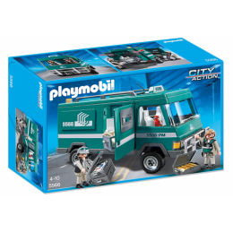 Playmobil 5566 Klocki City Action Transport Pieniędzy