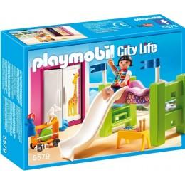 Playmobil Klocki City Life 5579 Pokój Dziecięcy z Łóżkiem Piętrowym