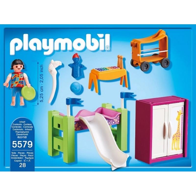 Playmobil klocki city life 5579 pok j dzieci cy z kiem for Salle a manger playmobil city life