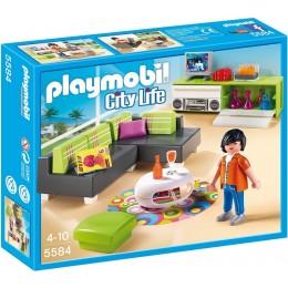 Playmobil Klocki City Life 5584 Pokój Dzienny