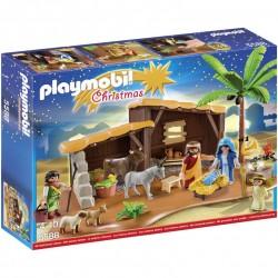Playmobil Boże Narodzenie 5588 Duża stajenka bożonarodzeniowa