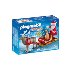 Playmobil Boże Narodzenie 5590 Sanie św. Mikołaja z reniferem