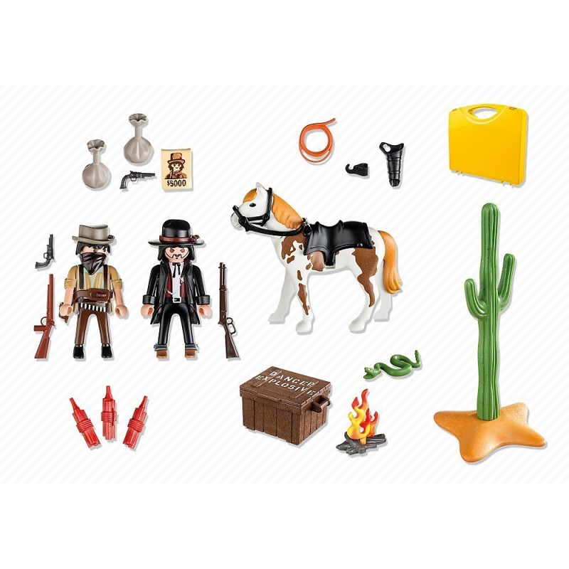 playmobil 5608 przeno na walizka western sklep zabawkowy. Black Bedroom Furniture Sets. Home Design Ideas