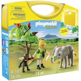 Playmobil 5628 Przenośna walizka - Afryka