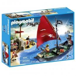 Klocki Playmobil 5646 Pirates - Piraci z łódką