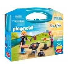 Playmobil 5649 Skrzyneczka Family Fun - Barbecue