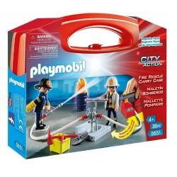 Playmobil 5651 Skrzyneczka City Action Strażacy