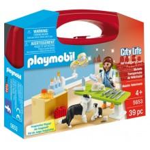Playmobil City Life Przenośna skrzyneczka Weterynarz 5653