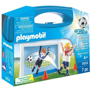 Playmobil 5654 Sports&Action - Skrzyneczka Bramka piłkarska