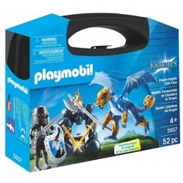 Playmobil 5657 Knights - Skrzyneczka Rycerz i smok