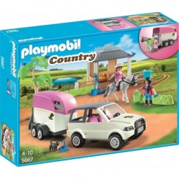 Playmobil Country 5667 Stajnia z przewozem dla konia