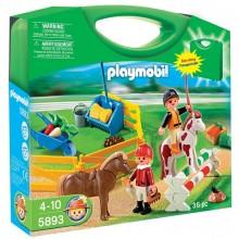 Playmobil Country 5893 Przenośna walizka Farma z końmi