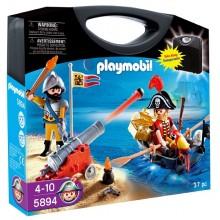 Playmobil Klocki Piraci 5894 Przenośna walizka Piraci
