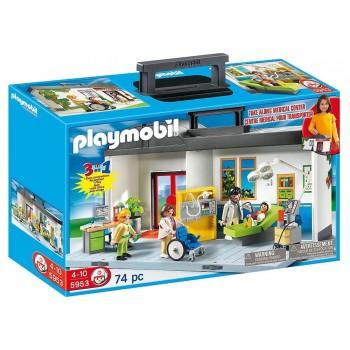 Klocki Playmobil 5953 City Life - Przenośny szpital