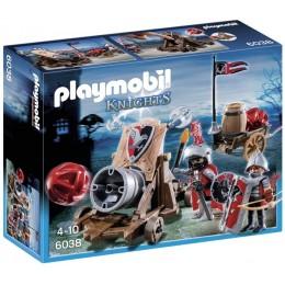 Playmobil 6038 Olbrzymia Armata Rycerzy Herbu Sokoła