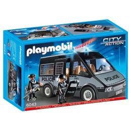 Playmobil 6043 Klocki City Action Samochód Brygady Policyjnej