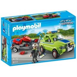 Playmobil 6111 City Action Pojazd serwisowy z kosiarką