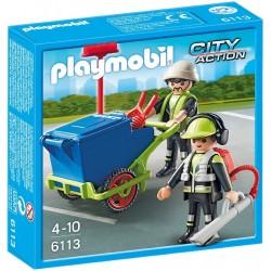 Playmobil City Action 6113 Zespół sprzatający miasto