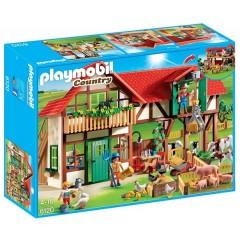 Playmobil Klocki Country 6120 Duże Gospodarstwo Rolne