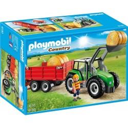 Playmobil Country 6130 Duży traktor z przyczepą