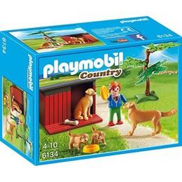Playmobil Klocki Country 6134 Labrador ze szczeniakami