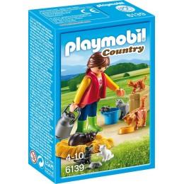 Playmobil Country 6139 Rodzina Kotów