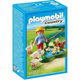 Playmobil Klocki Country 6141 Kaczki i gęsi przy stawie