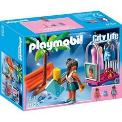 Playmobil Klocki City Life 6153 Sesja na Plaży