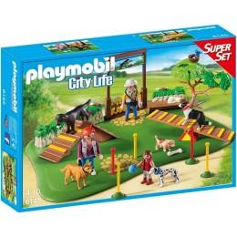 Playmobil City Life 6145 SuperSet Szkoła dla psów