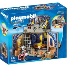 Playmobil Knights 6156 Game Box Rycerski Skarbiec