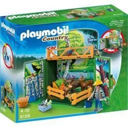 Playmobil Country 6158 Karmienie leśnych zwierząt