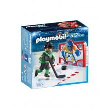Playmobil 6192 Sports&Action - Treningowa bramka hokejowa